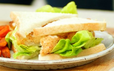 Easy As Aussie Fish Finger Sanga