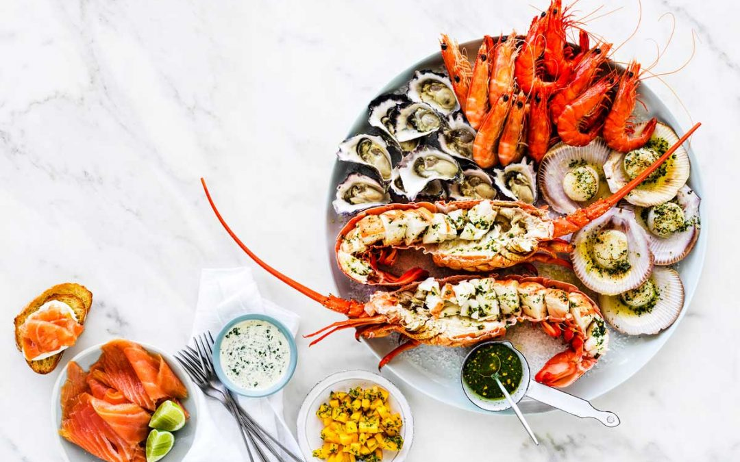 Easy As Aussie Seafood Platter