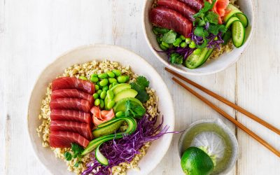 Easy As Fresh Australian Tuna Poke Bowl