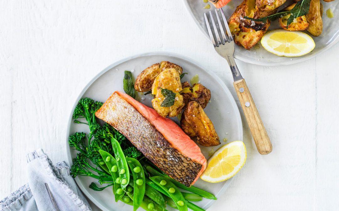 Easy As Crispy Skin Tasmanian Atlantic Salmon