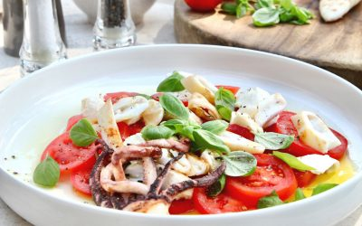Easy As BBQ Aussie Squid Salad