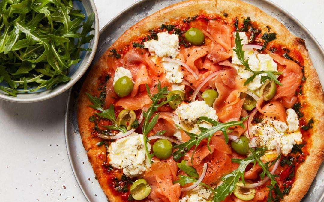 Tasmanian Atlantic Smoked Salmon Pizza