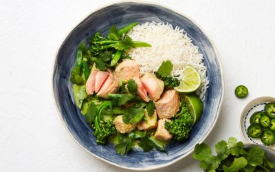 Tasmanian Atlantic Salmon Thai Green Curry
