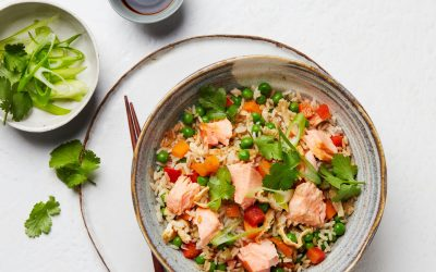 Tasmanian Atlantic Salmon Fried Rice