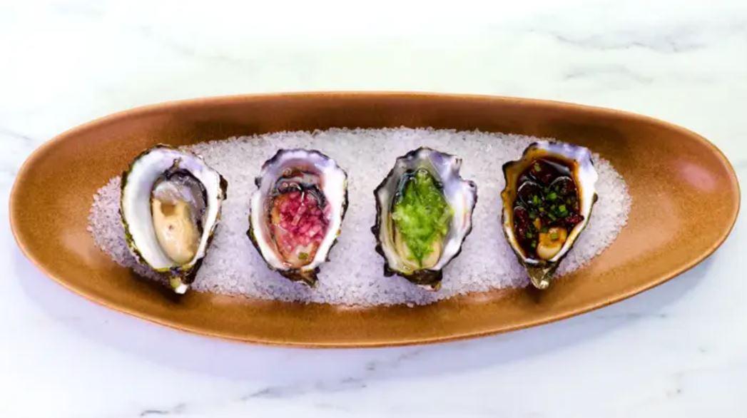 Australian Oysters 4-Ways